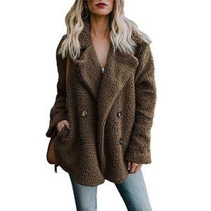 Lambswool Loose plush jacket (B0FD)